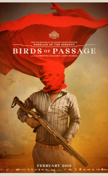 theatrical poster for birds of passage