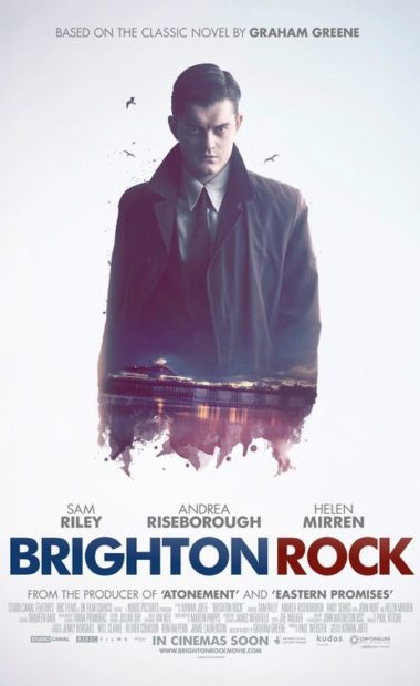 theatrical poster for brighton rock