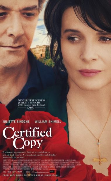 theatrical poster for certified copy