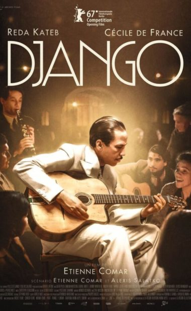 theatrical poster for django