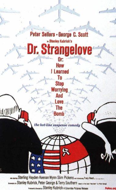 theatrical poster for Dr. Strangelove