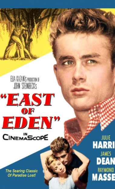 theatrical poster for east of eden
