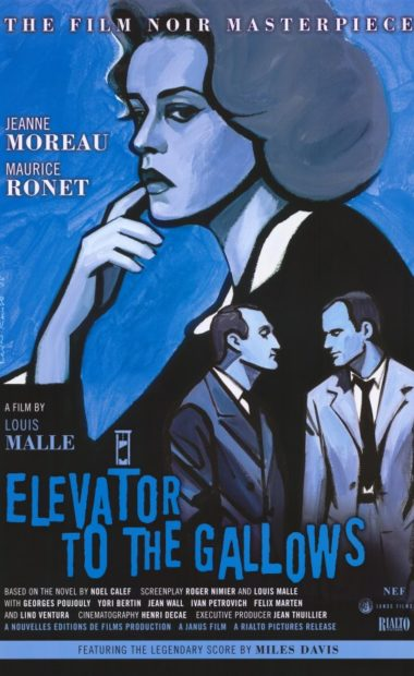 theatrical poster for elevator to the gallows