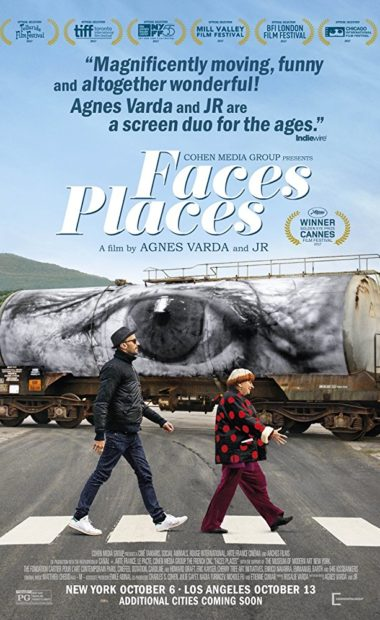 theatrical poster for faces places