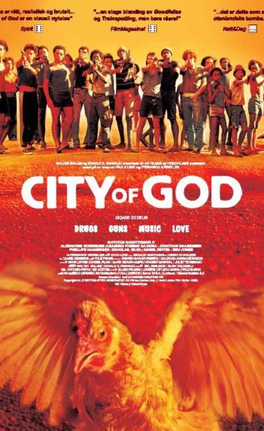 Theatrical poster for City of God (Cidade de Deus)