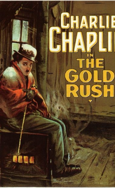 theatrical poster for the gold rush
