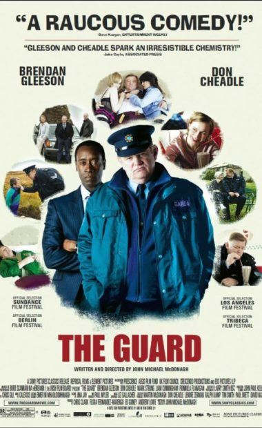 theatrical poster for the guard
