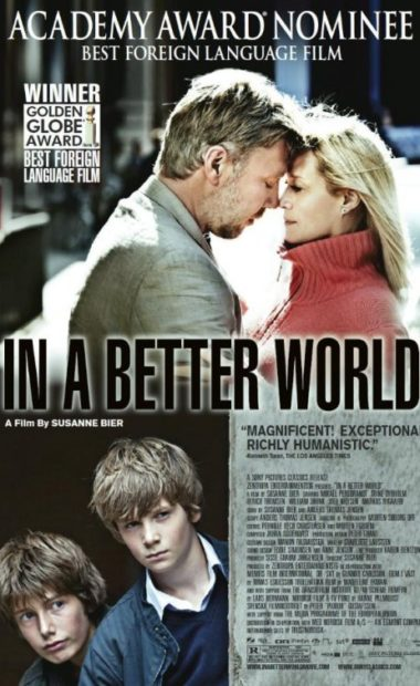 theatrical poster for in a better world