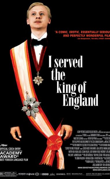 theatrical poster for i served the king of england
