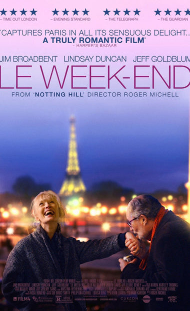 theatrical poster for le week-end