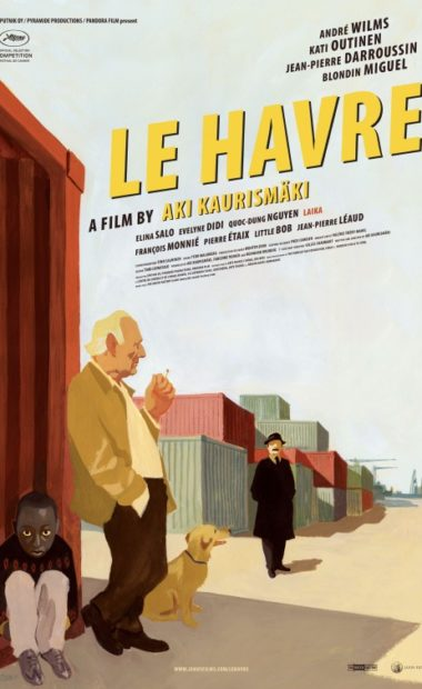 theatrical poster for le havre