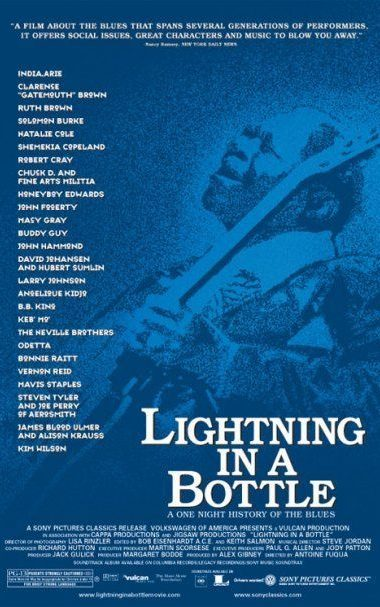 theatrical poster for lightning in a bottle