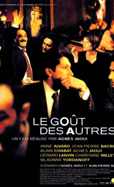 Theatrical film poster for The Taste of Others (Le Goût Des Autres)