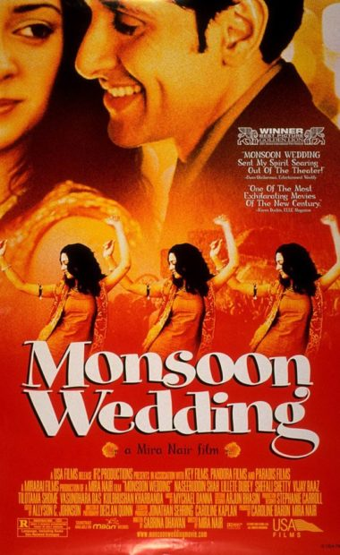 Theatrical poster for Monsoon Wedding