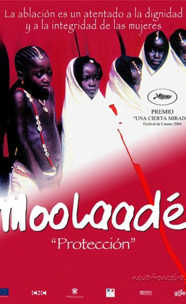 theatrical poster for moolaadé