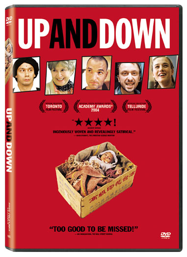 theatrical poster for up and down