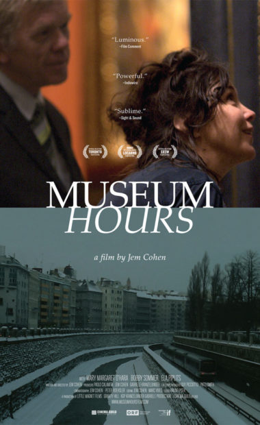 theatrical poster for museum hours