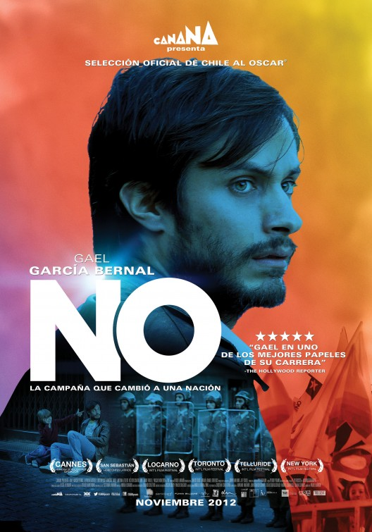 theatrical poster for NO