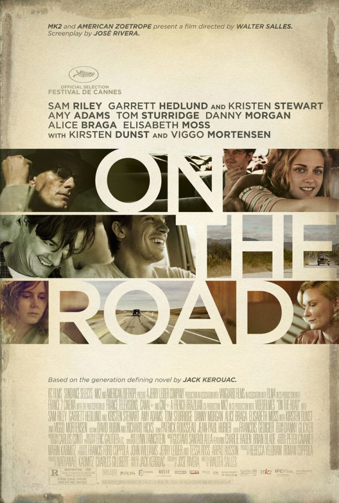 theatrical poster for on the road
