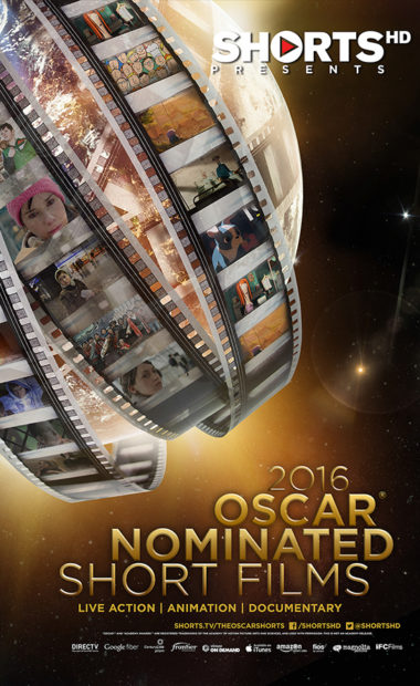 poster for 2016 oscar nominated shorts
