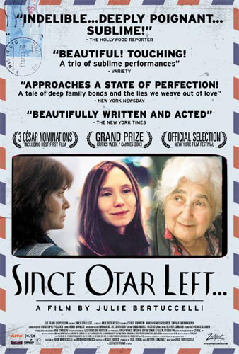 theatrical poster for since otar left