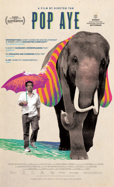 theatrical poster for pop aye
