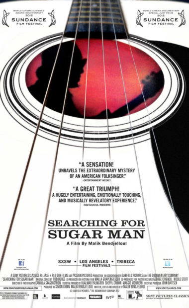 theatrical poster for searching for sugar man