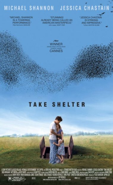 theatrical poster for take shelter