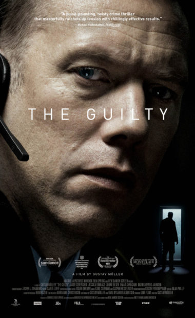 theatrical poster for the guilty