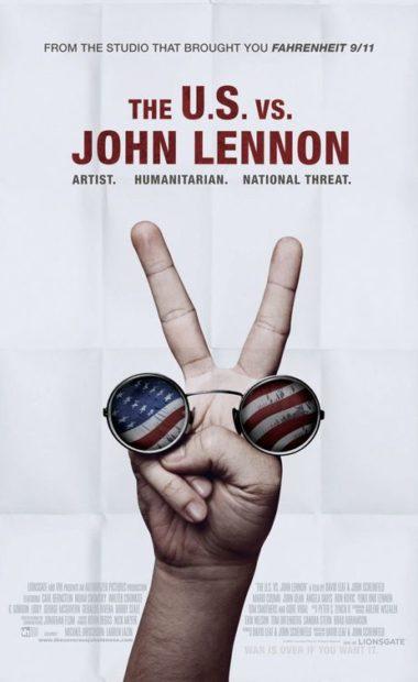 theatrical poster for the us vs john lennon