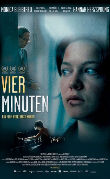 theatrical poster for four minutes (vier minuten)