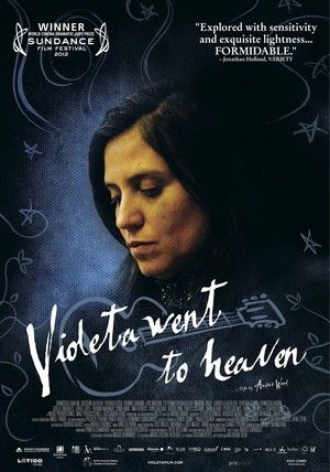 theatrical poster for violeta went to heaven
