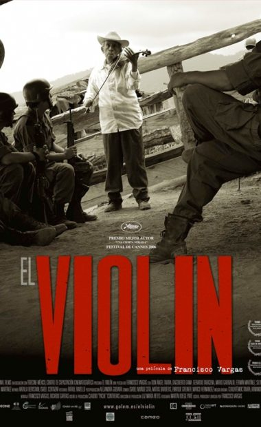 theatrical poster for el violin