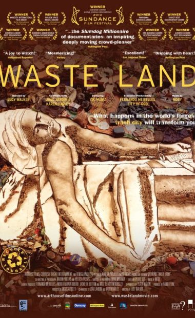 theatrical poster for waste land