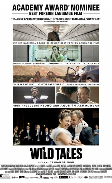 theatrical poster for wild tales